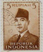 Perangko Sukarno 2