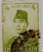 Perangko Sukarno 3