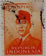 Perangko Sukarno 6