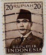 Perangko Sukarno 9